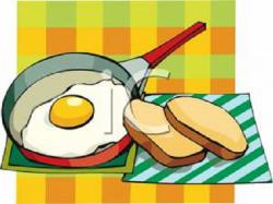 Breakfast clipart cooked egg