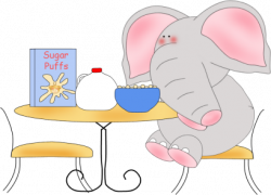 Cereal clipart cute