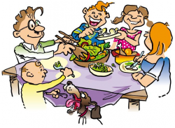 Diner clipart healthy dinner