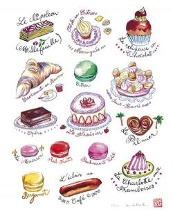 Pastry clipart france food