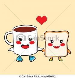 Toast clipart funny