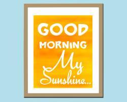 Serenity clipart morning sunshine