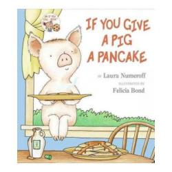Breakfast clipart if you give a pig a pancake