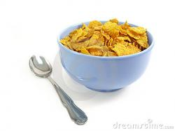 Cereal clipart bowl spoon