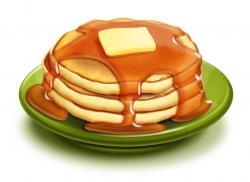 Pancake clipart stack pancake
