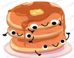 Pancake clipart stacked