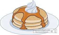 Syrup clipart pancake