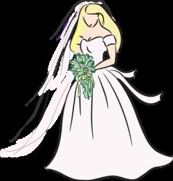 Veil clipart bridal shower