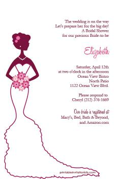 Elegance  clipart bridal shower