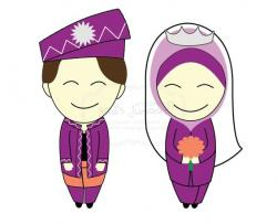 Bride clipart islamic