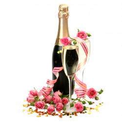 Champagne clipart transparent