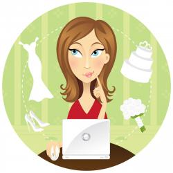 Bride clipart wedding planner