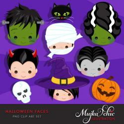 Bride Of Frankenstein  clipart face