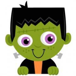 Frankenstein clipart cute