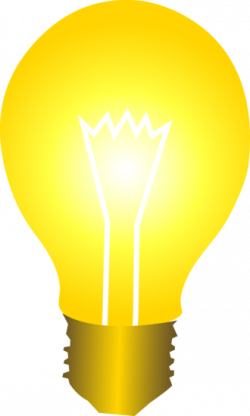 Idea clipart electric bulb