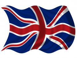 Union Jack clipart cartoon