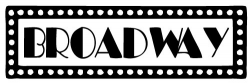 Broadway clipart