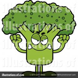 Broccoli clipart angry