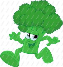 Broccoli clipart cartoon