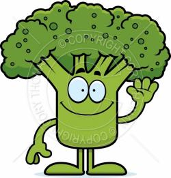 Broccoli clipart man