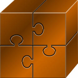 Puzzle clipart square