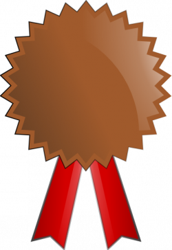 Bronze clipart medallion