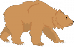 Larger clipart grizzly bear