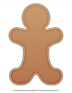 Gingerbread clipart plain