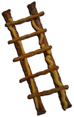 Firefighter clipart climbing ladder