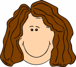 Brown Hair clipart