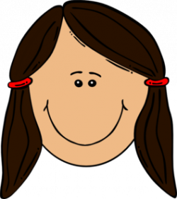Dark Hair clipart brunette hair