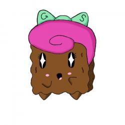 Brownie clipart cute cartoon