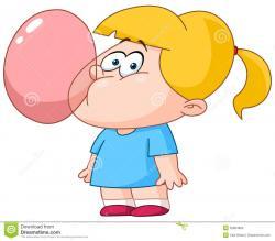 Chewing Gum clipart cartoon