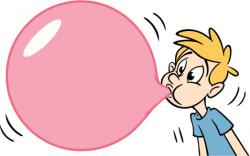 Chewing Gum clipart buble