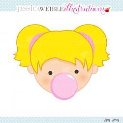 Chewing Gum clipart double bubble