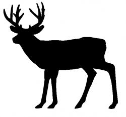 Dear clipart deer silhouette
