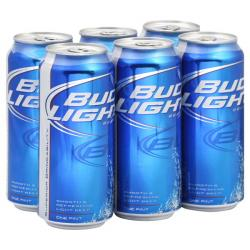 Bud Light clipart beer can
