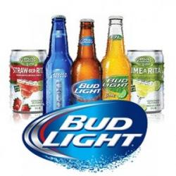Bud Light clipart domestic beer