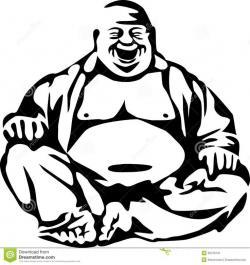 Zen clipart happy buddha