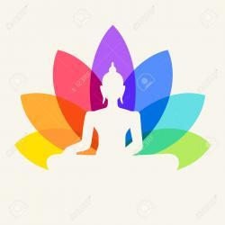 Buddha clipart chakra