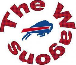 Buffalo Bill clipart touch football