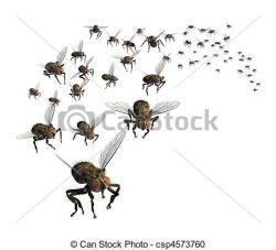 Bug clipart swarm
