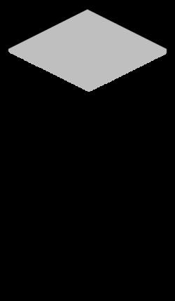 Monochrome clipart building