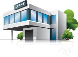 Office clipart business building