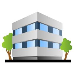 Office clipart bulding