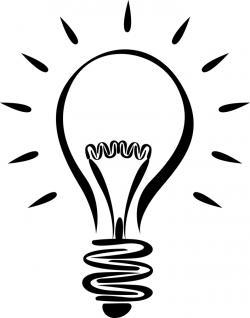 Inspiring clipart lightbulb moment