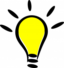 Idea clipart lighting bulb