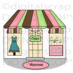 Shop clipart clothing store