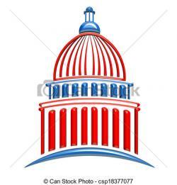 Dome clipart senate building