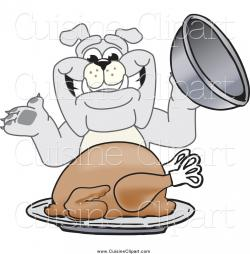Thanksgiving clipart bulldog